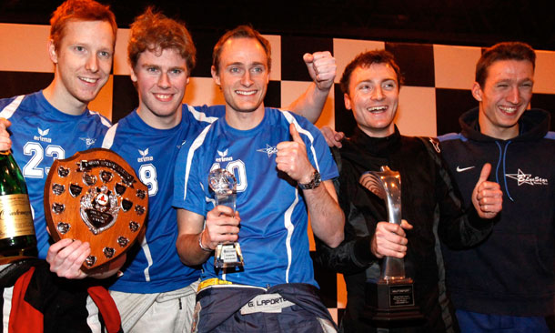 Wheldon Karting Podium picture