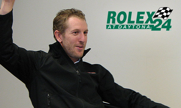 Kimball previews his first Rolex24 experience