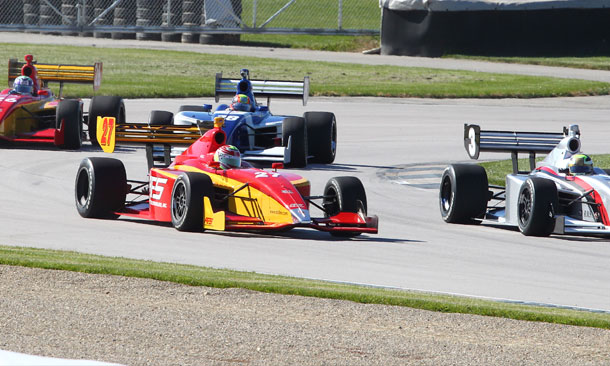 Firestone Indy Lights Test at Homestead