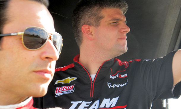Castroneves' new engineer