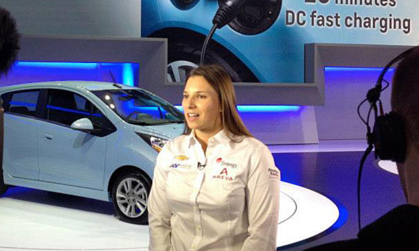 Simona de Silvestro at Geneva International Auto Show