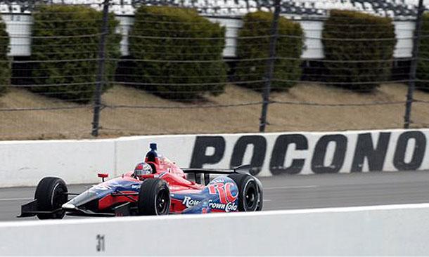 Marco Andretti at Pocono Raceway