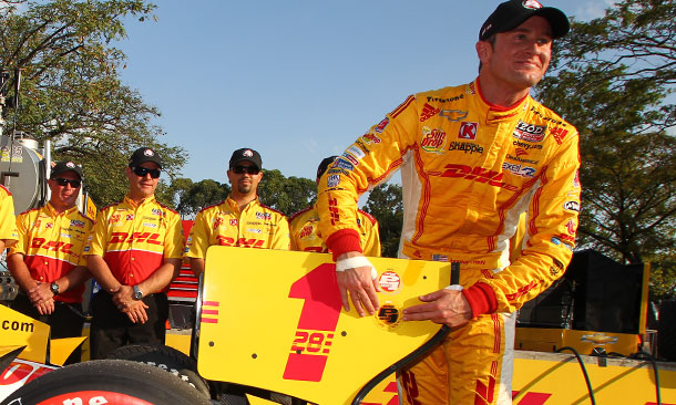 Ryan Hunter-Reay wins Verizon P1 Award for Sao Paulo
