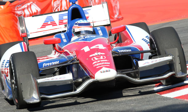 Takuma Sato leads points entering Indy 500