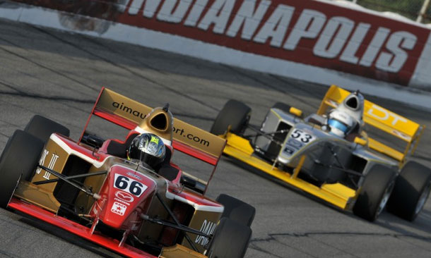 USF2000 and Pro Mazda return to Lucas Oil Raceway Park