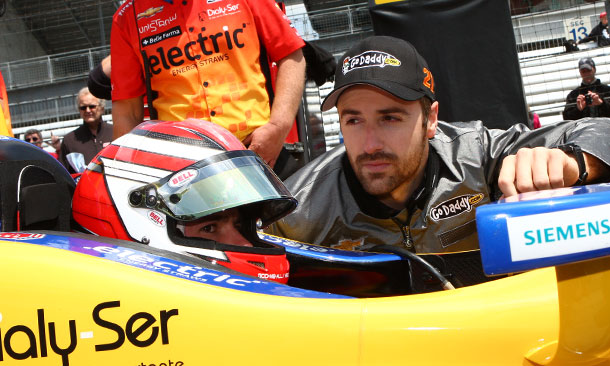Carlos Munoz and James Hinchcliffe