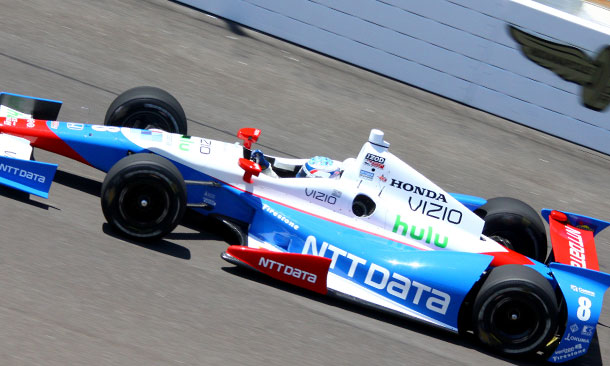 NTT Data joins Briscoe, Ganassi