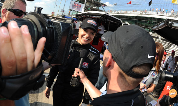 Katherine Legge qualifies for 2nd Indy 500