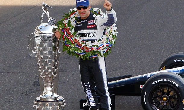 TK with Borg-Warner Trophy