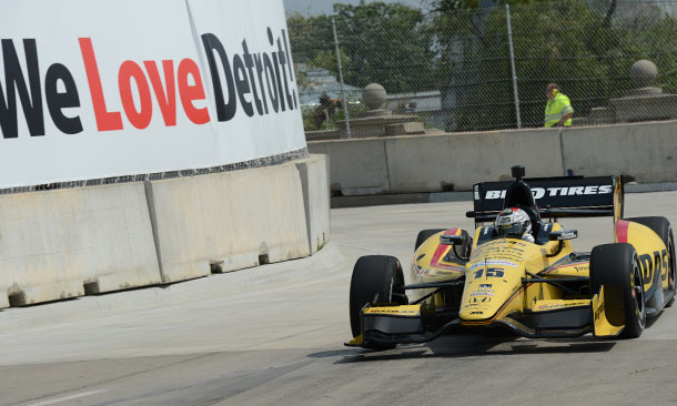 Graham Rahal at Detroit Belle Isle