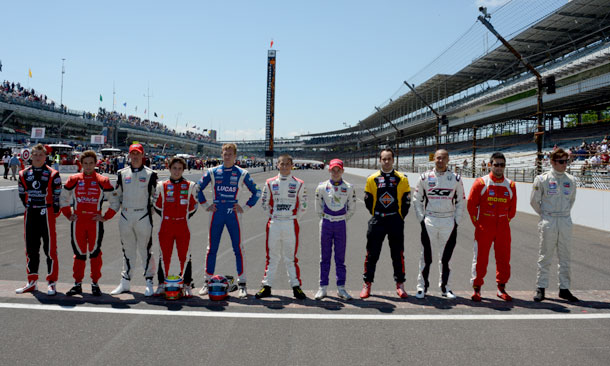 2013 Firestone Freedom 100 competitors