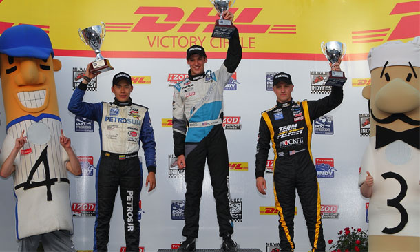 Matthew Brabham wins at Milwaukee