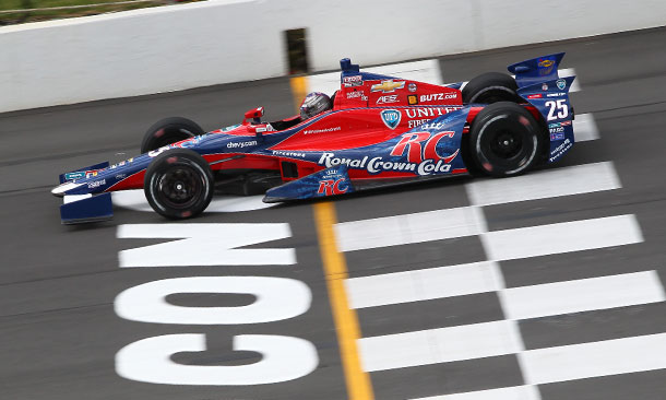 Marco Andretti at Pocono