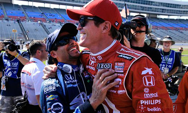 Scott Dixon and Alex Tagliani