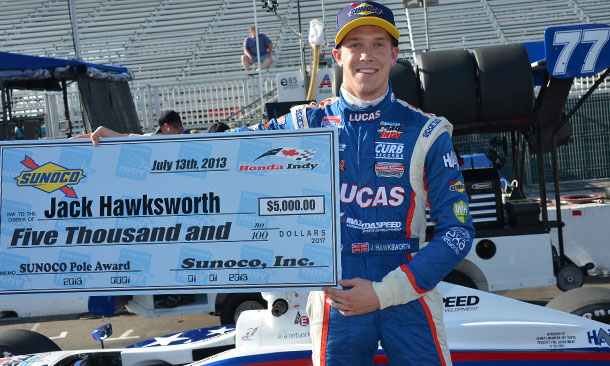 Jack Hawksworth wins the Pole for Toronto
