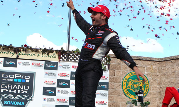 Will Power wins the GoPro Grand Prix of Sonoma