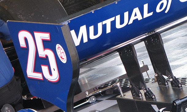 Marco Andretti's Car 25