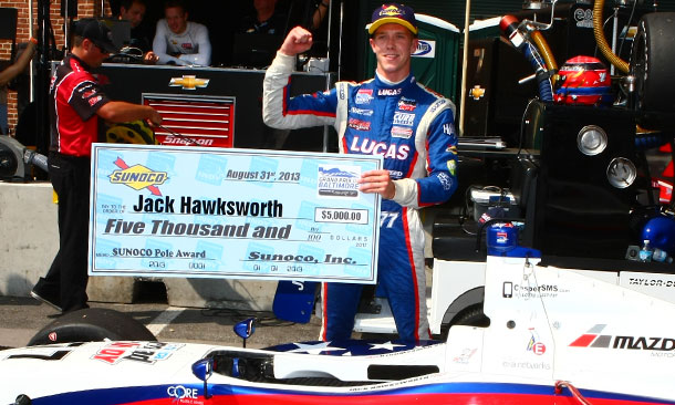 Jack Hawksworth - Pole Winner - Baltimore