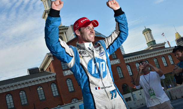 Simon Pagenaud wins in Baltimore