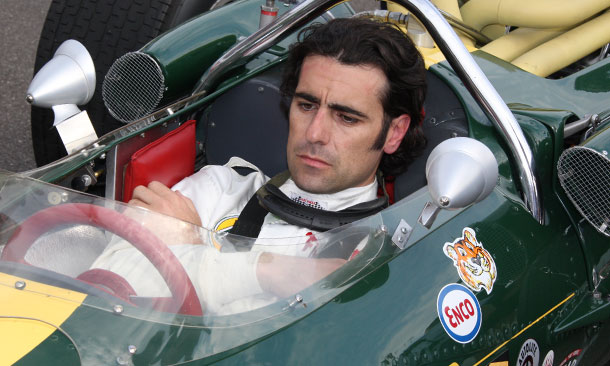 Dario Franchitti in Jim Clark's 1965 winning Lotus