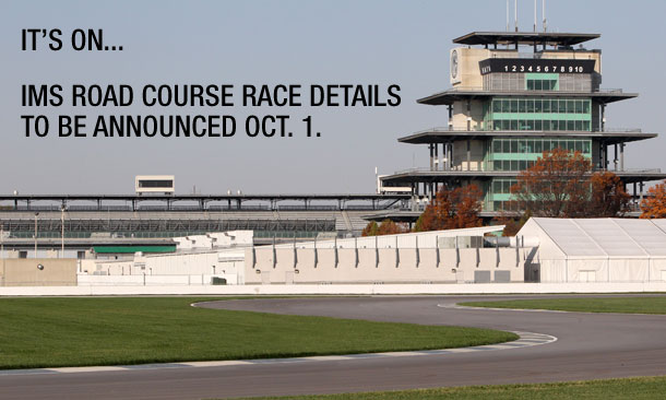 IMS Road Course Announcement