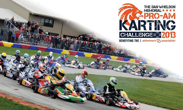 Dan Wheldon Memorial Pro-Am Karting Challenge 2013