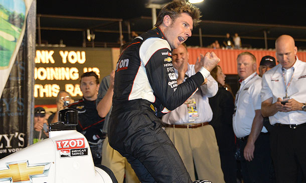 Will Power wins MAVTV 500