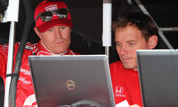 Scott Dixon and Eric Bretzman