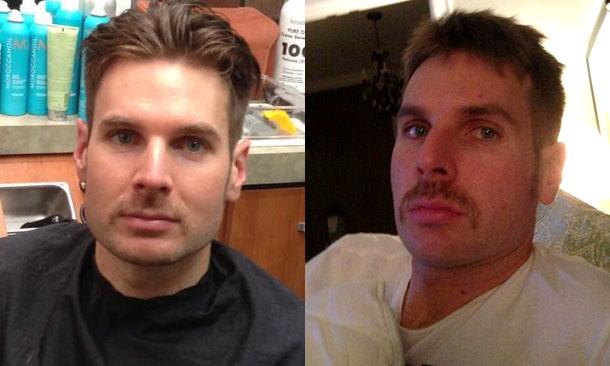Will Power - Movember Mustache