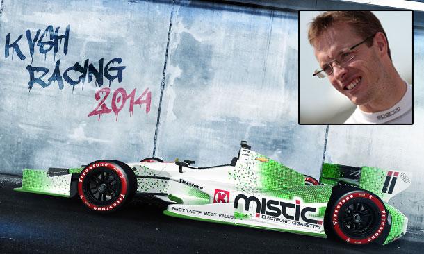 Sebastien Bourdais and KVSH Racing