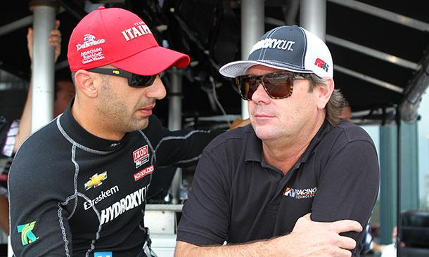 Jimmy Vasser and Tony Kanaan