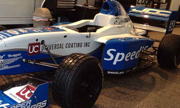 Michael Johnson in Pro Mazda