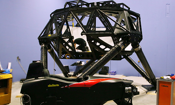Dallara Simulator Installation