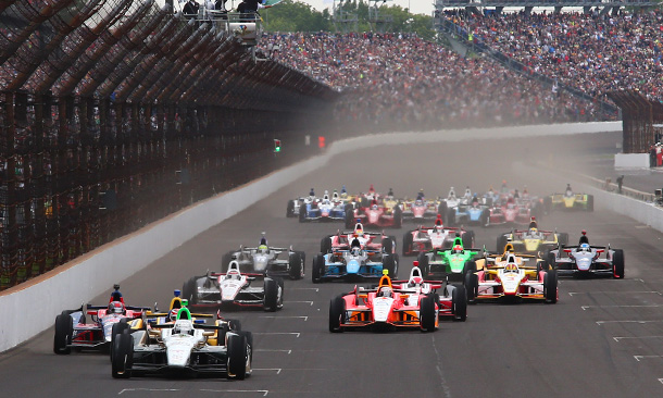Start of the Indianapolis 500