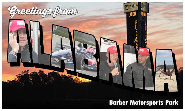 Postcard From Barber Motorsports Park
