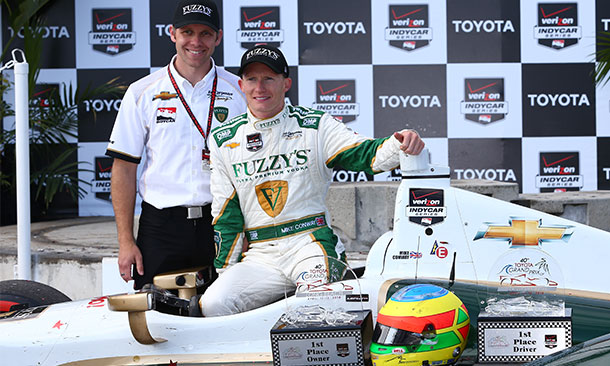 Ed Carpenter and Mike Conway