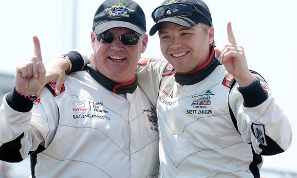 Al Unser Jr. and Brett Davern