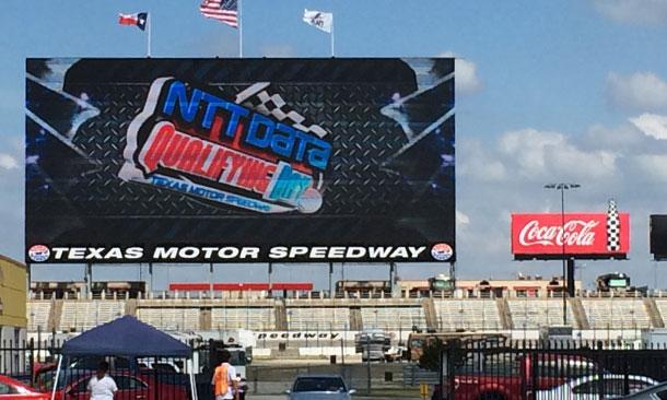 Big Hoss TV at Texas Motor Speedway