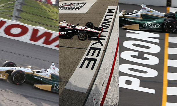 Iowa Speedway, Milwaukee Mile, Pocono Raceway