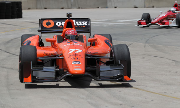 Pagenaud On Track Houston