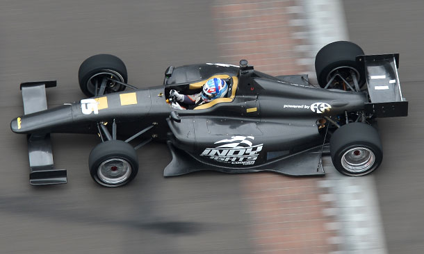 Dallara IL-15 Test at IMS