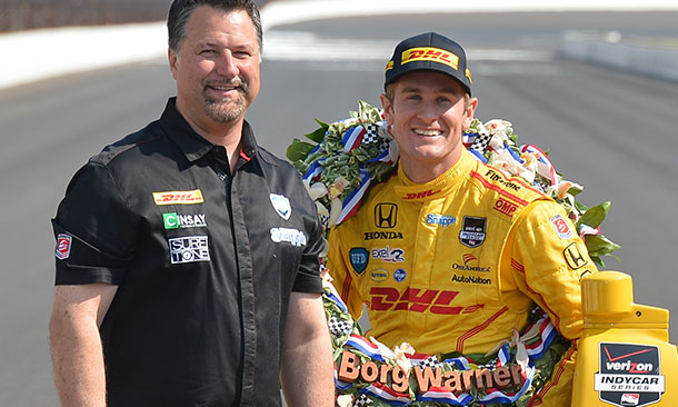 Michael Andretti and Ryan Hunter-Reay