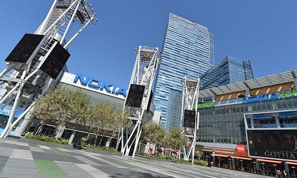 Club Nokia and the Nokia Theater