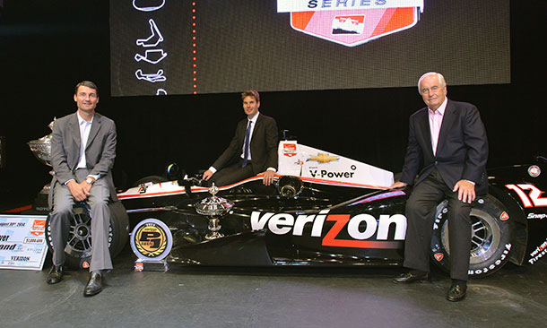 Tim Cindric, Will Power, and Roger Penske
