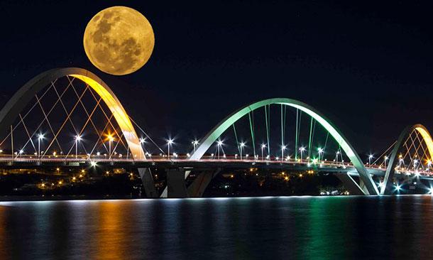 Brasilia JK Bridge