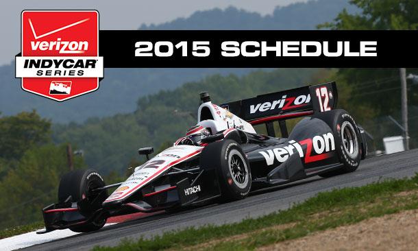 Print The 2015 Verizon Indycar Series Schedule