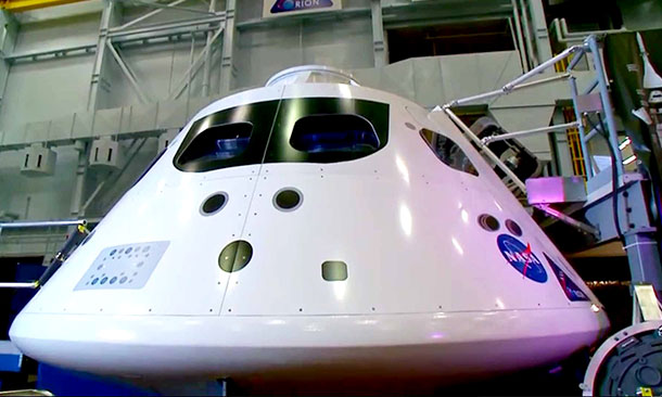 Orion Flight Capsule