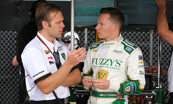 Ed Carpenter & Mike Conway