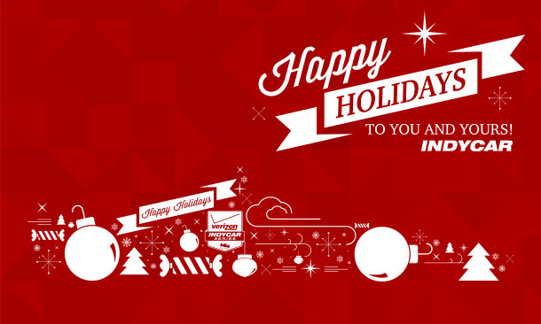 Indycar Wishes You A Very Merry Christmas