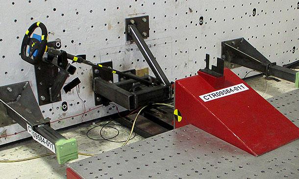 Steering Damper Test Sled